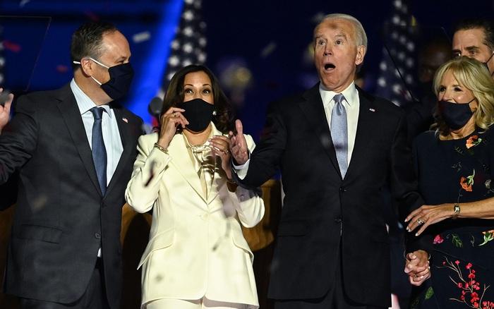 Tân Tổng thống Mỹ Joe Biden phát biểu tuyên bố chiến thắng: