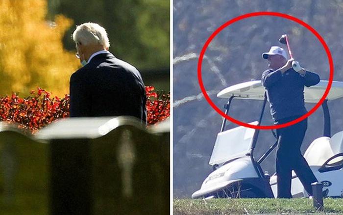 Ngày đầu tiên sau khi đắc cử: Tân Tổng thống Joe Biden đến thăm mộ con trai cả quá cố báo tin vui, ông Donald Trump lặng lẽ đi đánh golf một mình