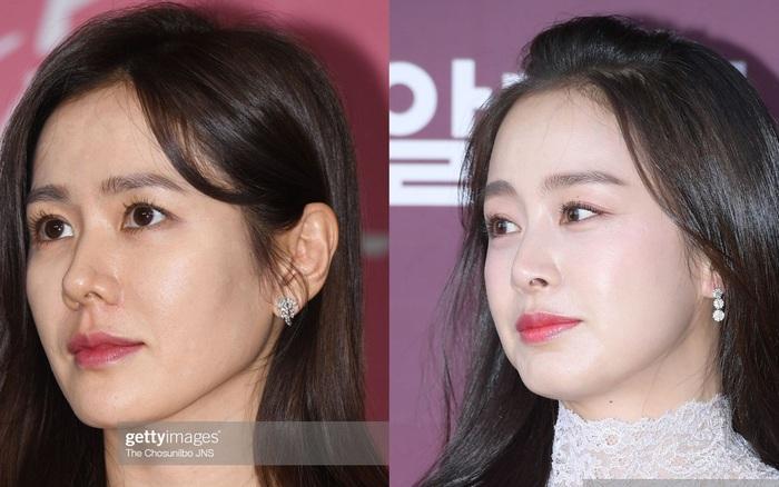 Làn da của các mỹ nhân U40 xứ Hàn trong ảnh zoom cận mặt: Hack tuổi thần thánh nhất không phải là Son Ye Jin hay Song Hye Kyo
