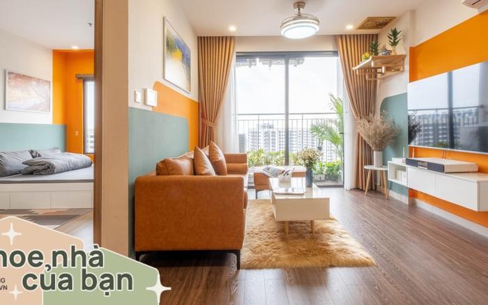 Ngắm căn hộ 43m² đẹp chanh sả như bên trời Tây với chi phí nội thất 68 triệu đồng ở Vinhomes Ocean Park, Hà Nội