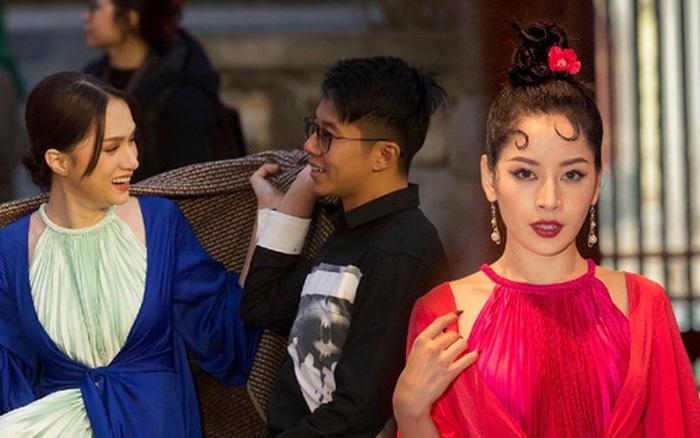 Thảm đỏ show diễn Đào của NTK Adrian Anh Tuấn: Hương Giang - Matt Liu tình tứ chiếm spotlight, dàn người đẹp Vbiz đọ sắc