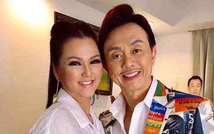 Khoảnh khắc cuối cùng của cố nghệ sĩ Chí Tài bên cạnh vợ trước ngày trở về Việt Nam hồi đầu năm nay