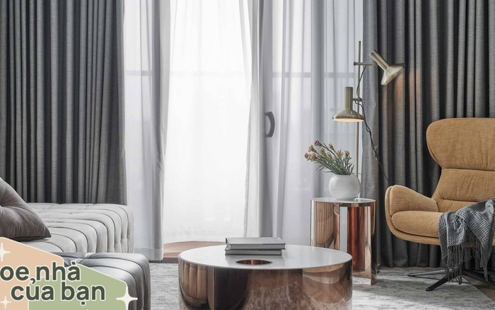 Căn hộ 100m² đẹp như nhà mẫu nhờ nội thất được lựa chọn