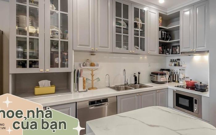 Mẹ đảm 9x ở Sài Gòn tự tay decor cho căn hộ 55m² với chi phí hoàn thiện nội thất 200 triệu đồng khiến chồng vô cùng bất ngờ