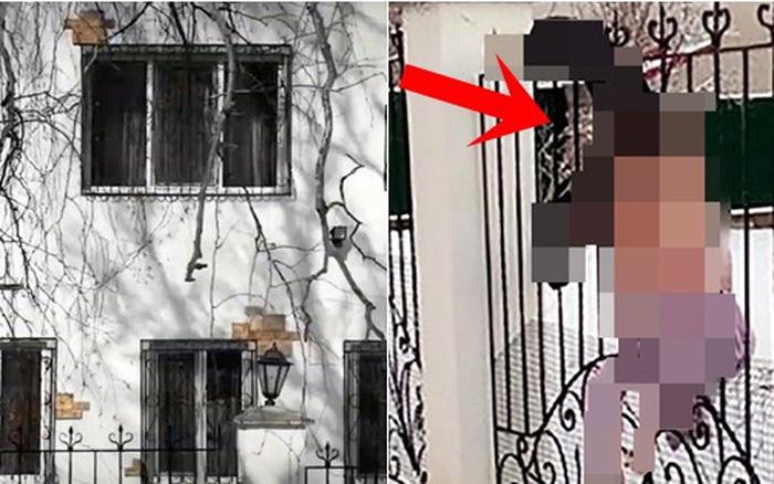 Ra khỏi nhà quên mang chìa khóa, người phụ nữ trèo hàng rào vào trong nhưng bi kịch xảy ra, cảnh hiện trường gây ám ảnh rùng rợn