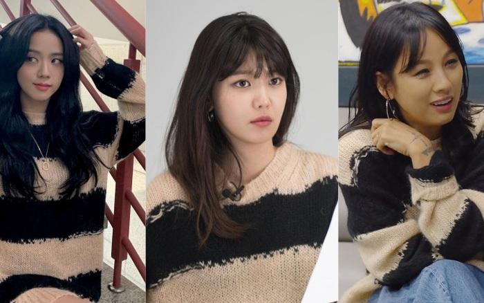 Diện mỗi chiếc áo len, Jisoo đụng hàng hết Sooyoung (SNSD) đến Lee Heyori: Nhưng cách mà chị cả Black Pink diện mới khiến dân tình thót tim nhất