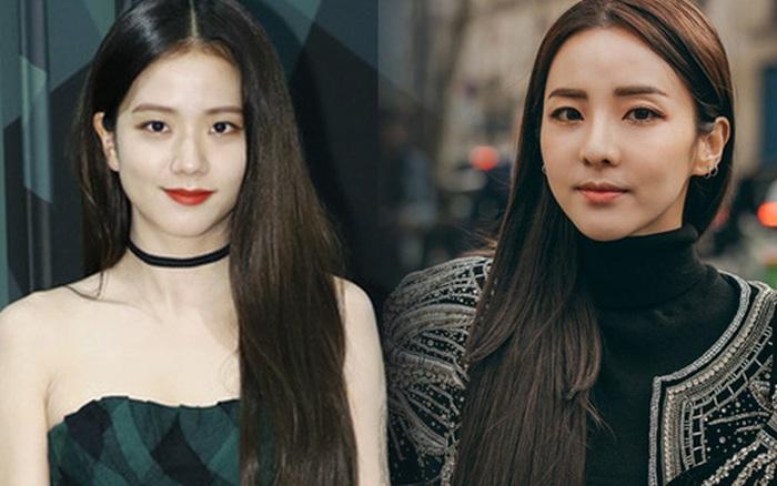 Jisoo (BLACKPINK) và Dara không ít lần như chị em sinh đôi vì makeup và làm tóc giống hệt nhau
