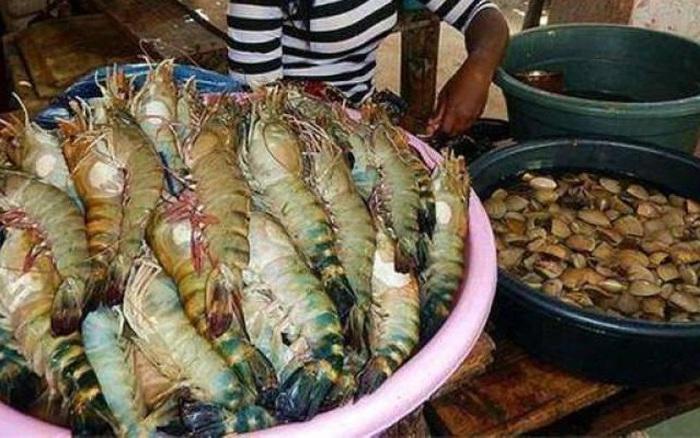 Ghé khu chợ này bạn mua được hải sản kích thước khủng rẻ hơn rau, tôm hùm