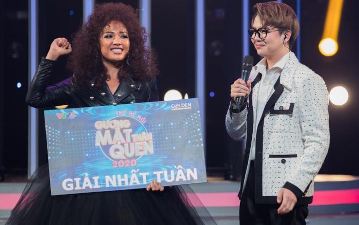 Gương mặt thân quen: Được Mỹ Linh hết lời khen ngợi, Cara xuất sắc giành giải nhất tuần lần 2