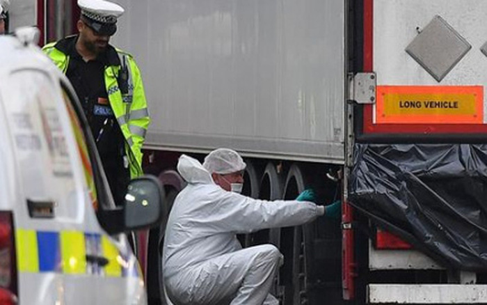 Vụ 39 thi thể trong xe tải ở Anh: Hai người đàn ông bị kết tội ngộ sát