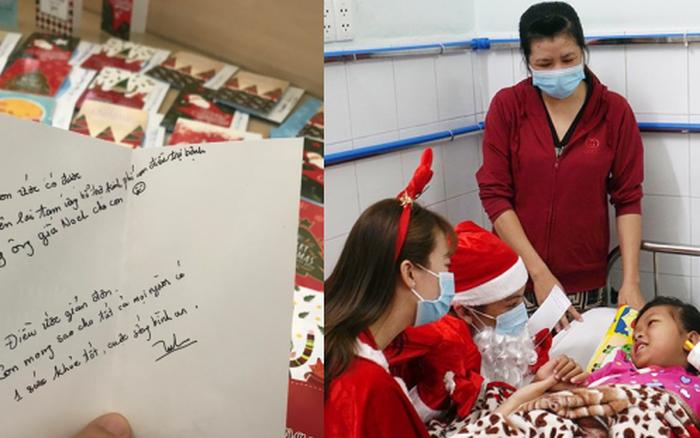 Xúc động điều ước Giáng sinh của các bệnh nhi chạy thận, ung thư: