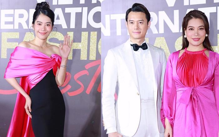 Thảm đỏ khai mạc Fashion Festival: Trương Ngọc Ánh lộ vóc dáng tròn đầy nhưng gây khó hiểu nhất là cách tạo dáng của Nam Em