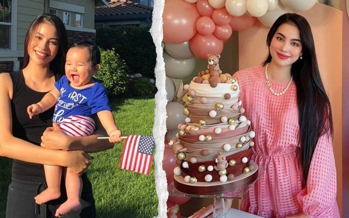 Phạm Hương tổ chức sinh nhật cho con trai rõ hoành tráng nhưng chỉ 1 chi tiết mà bị dân tình chê không biết dạy con, vì đâu nên nỗi?