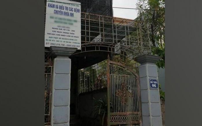 Hải Phòng: Bé trai 7 tháng tuổi tử vong sau mũi tiêm tại phòng khám tư
