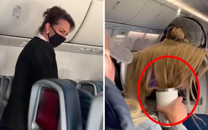 Điên tiết với hành động kém duyên của hành khách bay cùng, cô gái có màn