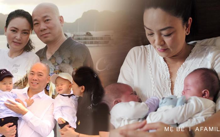 Phỏng vấn độc quyền cô Văn Thùy Dương: Làm mẹ ở tuổi U50 nhưng may quá chưa ai nhầm mẹ - con là bà - cháu, tình cảm vợ chồng không cần