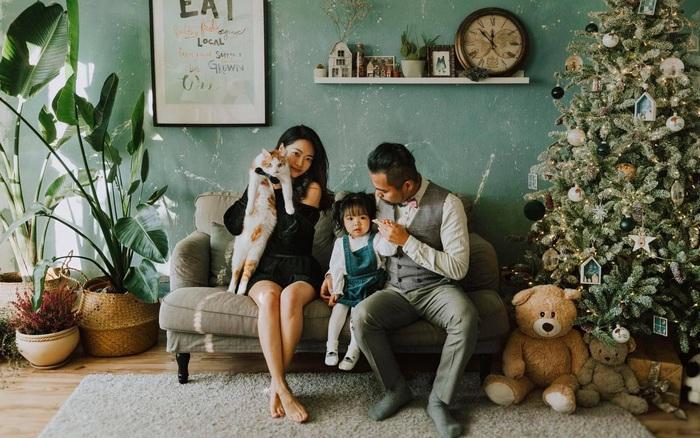 Căn hộ của vợ chồng trẻ biến thành tổ ấm màu xanh đẹp như trong tạp chí - xs thứ bảy