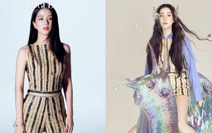 Đẹp như hoa hậu nhưng ăn vận quá an toàn, Ji Soo thất thế trước Angela Baby với ...