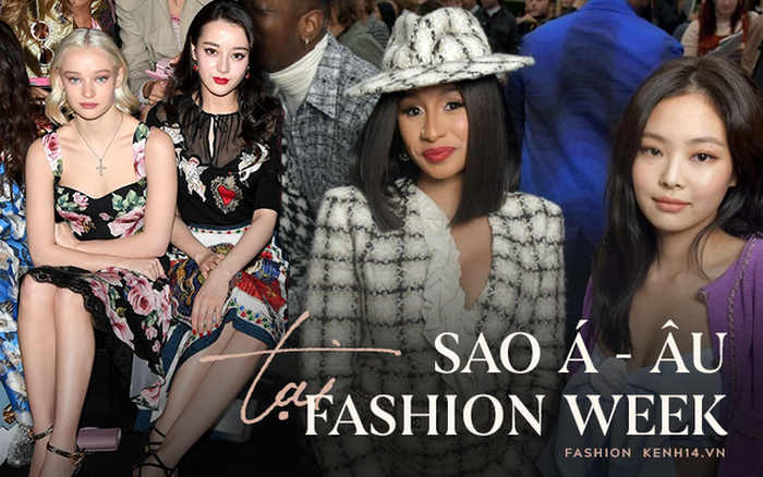 Sao Âu Á chung khung hình tại Fashion Week: Sao Á không ...