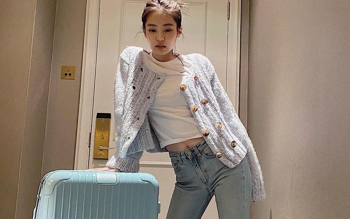 Chiếc quần jeans yêu thích của Jennie đây rồi: Kiểu quần ...