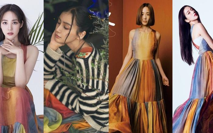 SAO ĐỤNG HÀNG: 4 mỹ nhân đẹp xuất thần khi cùng diện váy của Dior