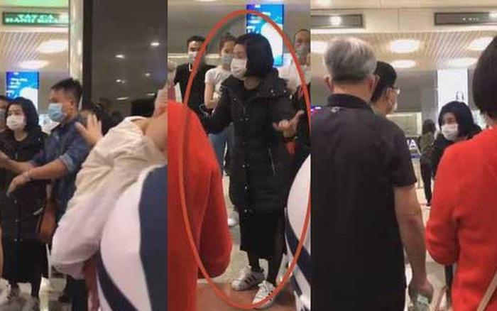 người phụ nữ kích động mọi người làm ầm ĩ ở sân bay chỉ vì phải ngồi ...