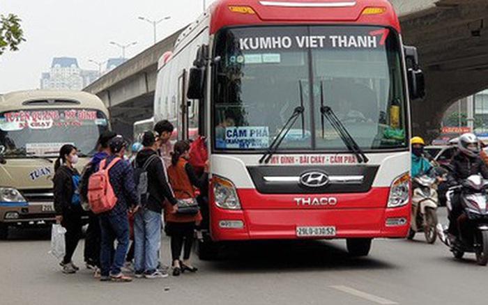 Cả nước dừng hoạt động xe khách, taxi, buýt, xe hợp đồng
