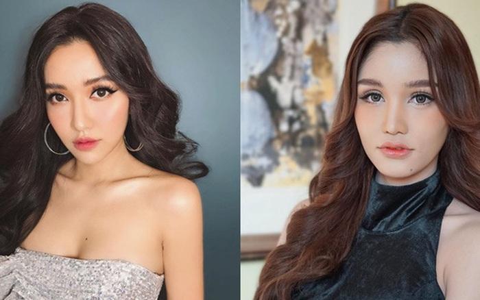"""Xuất hiện """"chị em sinh đôi"""" của Bích Phương tại Hoa hậu ..."""