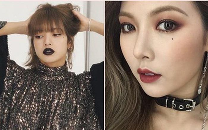 """8 """"thánh son môi"""" xứ Hàn: Chơi hẳn màu ..."""
