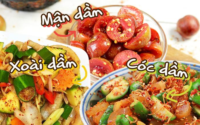 Học ngay cách làm 5 món hoa quả dầm chỉ nghe tên thôi ...