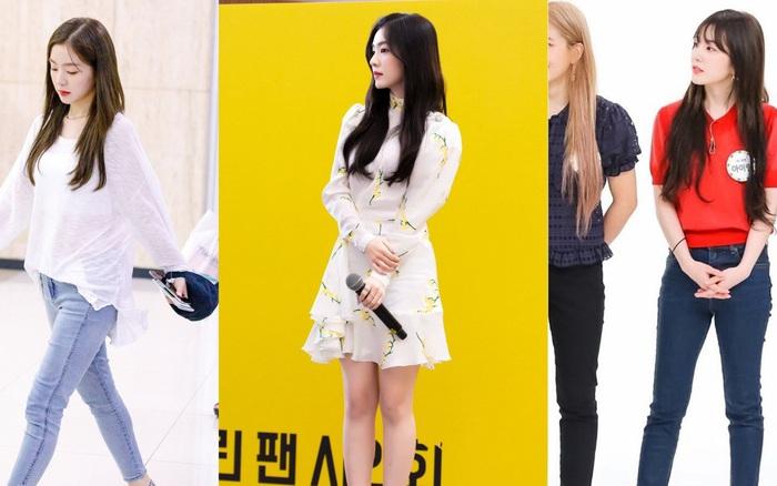 """Irene (Red Velvet) cũng có đầy khoảnh khắc """"hack"""" chân cực ..."""