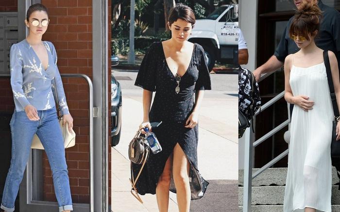 10 bộ cánh đơn giản mà đẹp thần sầu của Selena Gomez