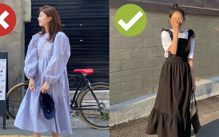 Áp dụng 4 tips diện váy hack dáng sau, bạn thấp bé đến mấy ...