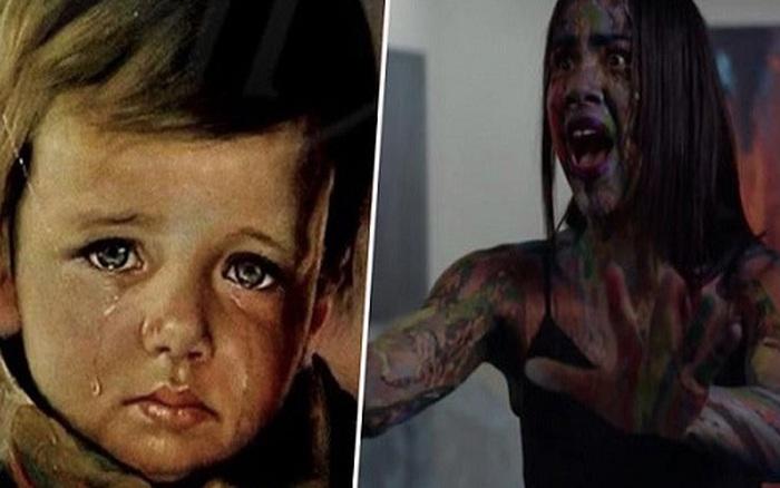 """Sự trùng lặp kỳ lạ về bức tranh """"Cậu bé khóc"""" bị ..."""
