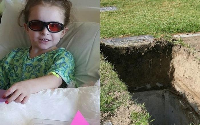 Bé gái 7 tuổi qua đời trong sự thương xót của dư luận, cảnh sát khai ...