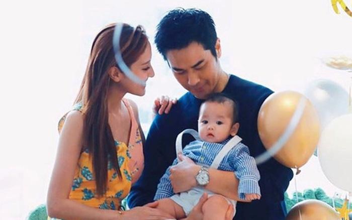Vợ Hoa hậu Hong Kong kém 22 tuổi của tài tử TVB Trịnh Gia Dĩnh mang thai lần hai