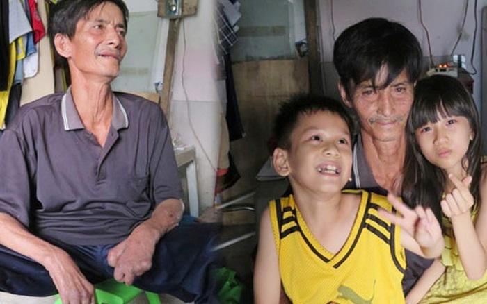 Người đàn ông khuyết tật 2 tay bán phế liệu nuôi 2 cháu sinh ...