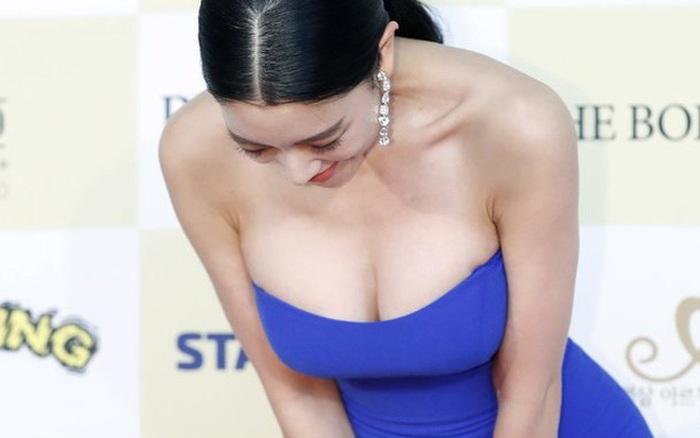 Từ Cbiz, Kbiz đến Vbiz đều có những người đẹp thích diện đồ hở khoe ngực căng ...