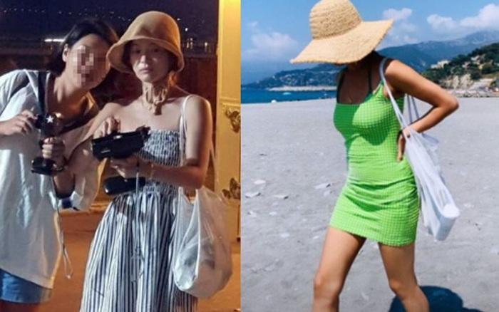 """Song Hye Kyo cứ đi du lịch là """"quẩy"""" đồ hở tới bến"""