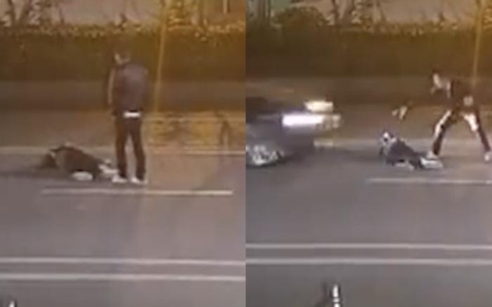 Cặp tình nhân cãi nhau trên đường chỉ vì mâu thuẫn ...
