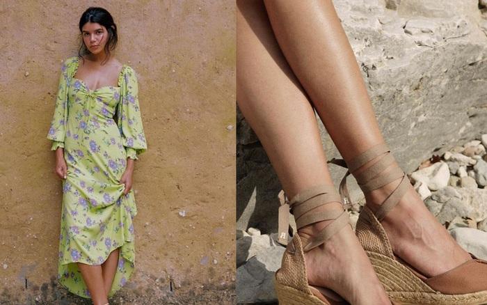 4 mẫu giày dép mùa Hè được lòng phụ nữ Pháp nhất
