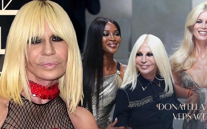 """""""Nữ vương thương hiệu Versace"""" Donatella Versace: """"Búp ..."""