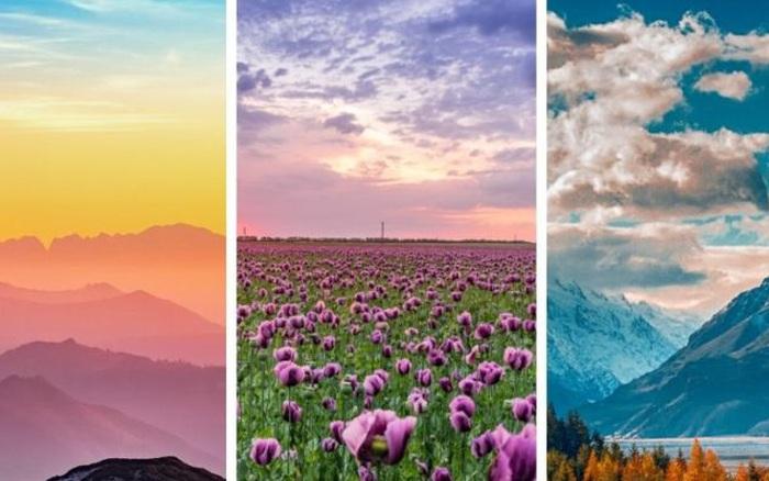 Chọn cảnh quan thiên nhiên mà bạn yêu thích nhất để ...