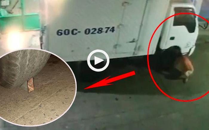 Bức xúc vì xe tải đỗ trước nhà, người đàn ông đã ...