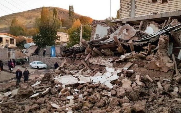 Động đất độ lớn 5,7 rung chuyển một khu vực lớn của Iran