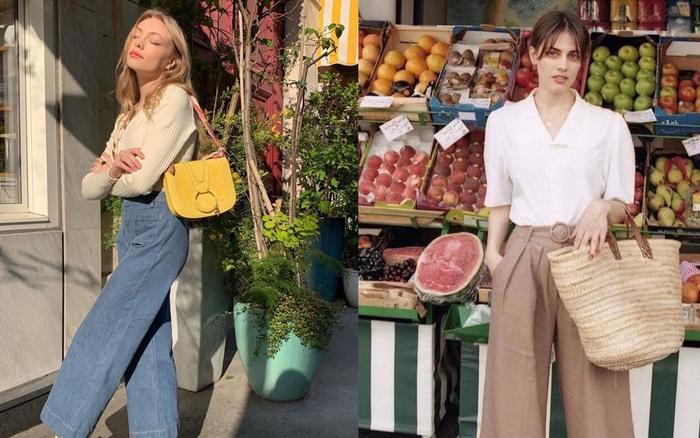 4 kiểu quần dài siêu thanh lịch được phụ nữ Pháp ưa chuộng