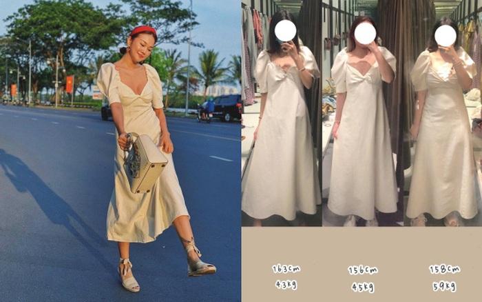 4 cô nàng cùng thử mẫu váy Zara mà Thanh Hằng mặc