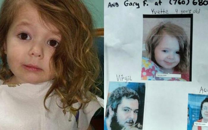 Bé gái bị bố bắt đi, cảnh sát tưởng tuyệt vọng trước khi một người ...