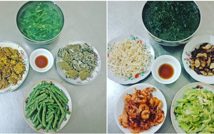 Bữa cơm 50k dành cho 5 người của bà nội trợ Kiến Xương, Thái Bình ...