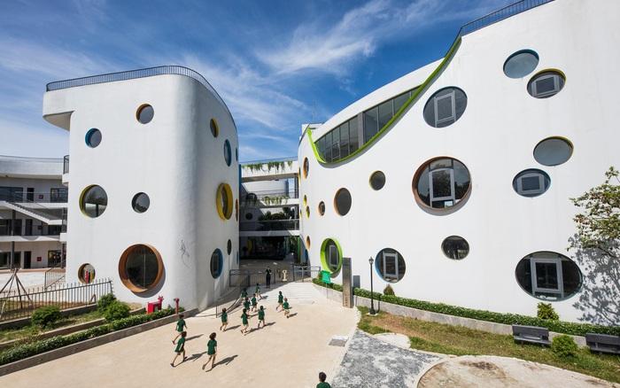 Ngắm ngôi trường mầm non với thiết kế đẹp như mơ ở Vinh